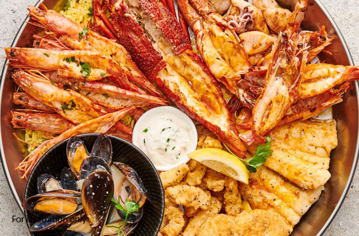 From the Sea - Seafood Platter