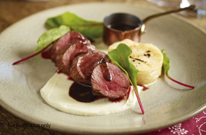Game Dishes - Venison Loin