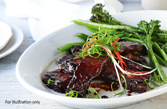 Main Courses - Teriyaki Glazed Pork Belly