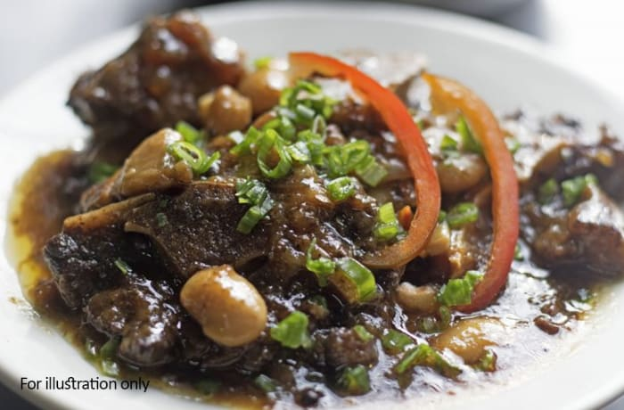 Main Courses - Traditional Oxtail