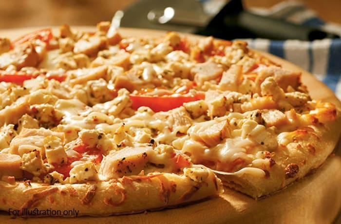 Night Menu - BBQ Chicken Pizza