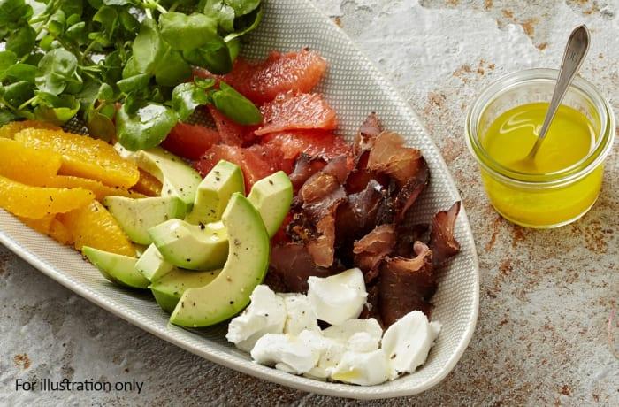 Night Menu - Biltong Salad