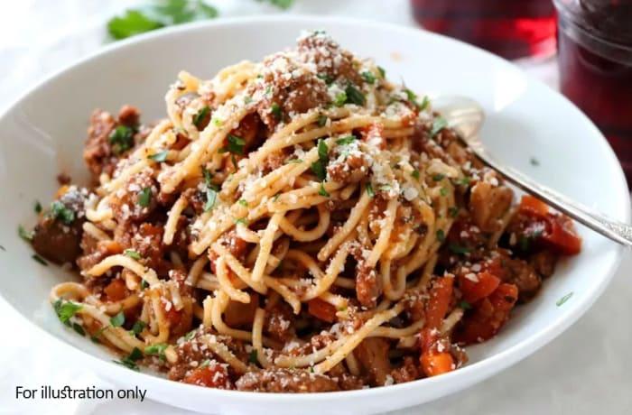 Night Menu - Spaghetti Bolognese