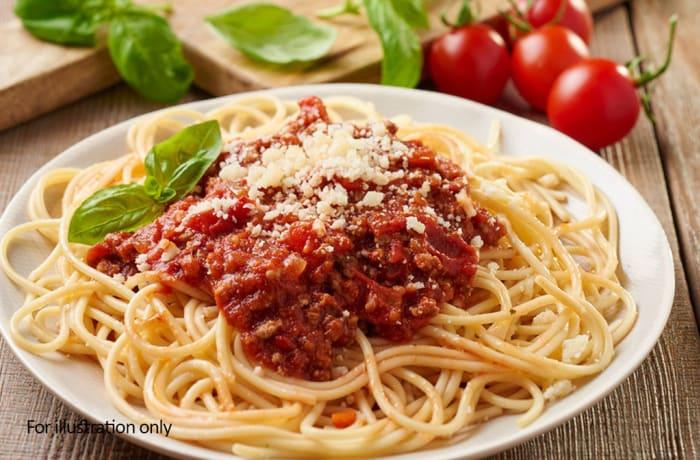 Pizza & Pasta - Spaghetti Bolognese