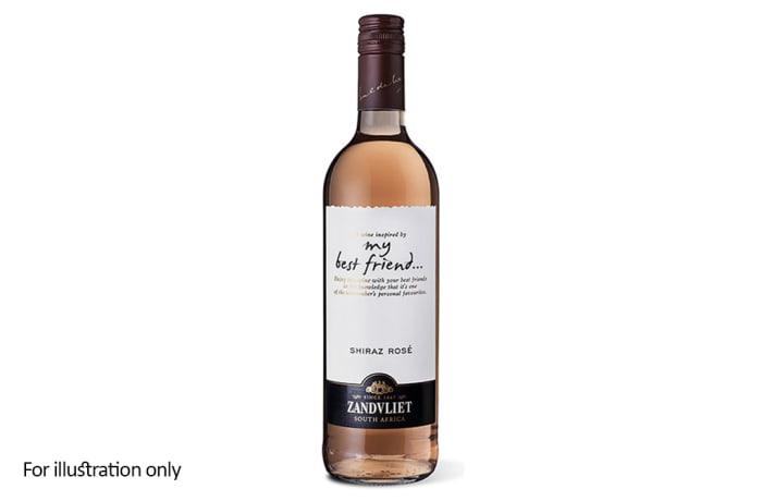 Rose Wine - South Africa - Zandvliet, My Best Friend, Shiraz Rosé