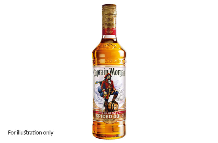Rum and Other Sugar Spirits -  Captain Morgan Spiced Gold