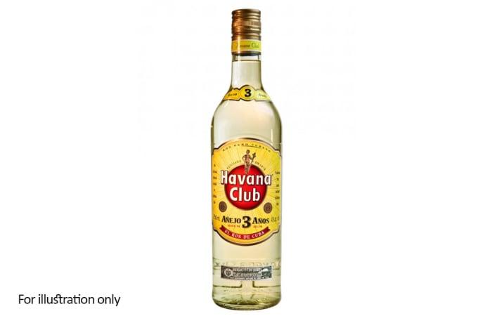 Rum and Other Sugar Spirits -  Havana Club 3 Años