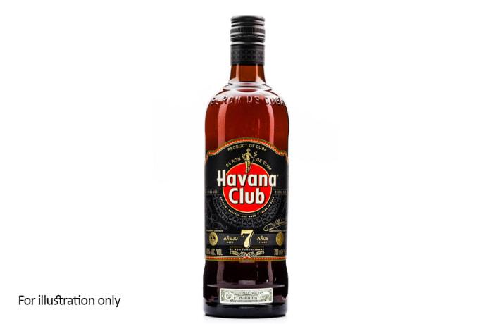 Rum and Other Sugar Spirits -  Havana Club 7 Años