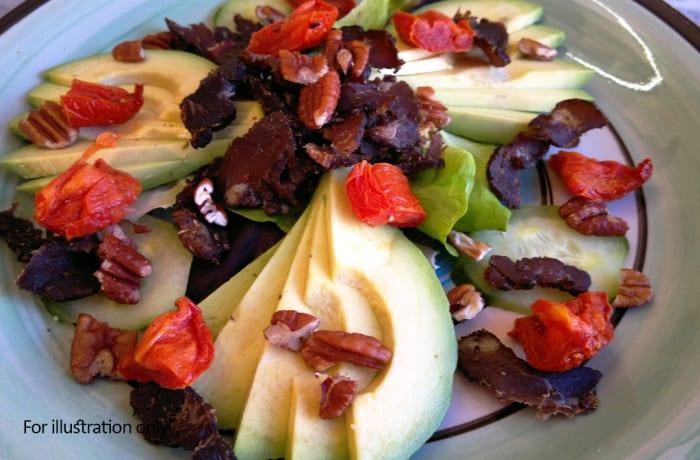 Salads - Biltong Salad