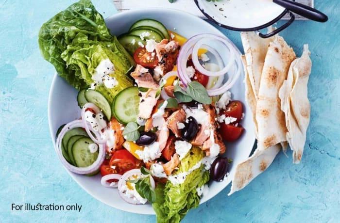 Salads - De Constructed Salmon Salad