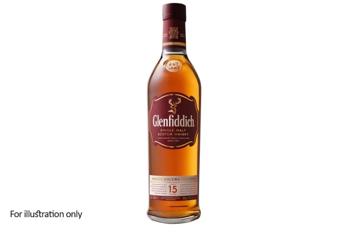 Scottish Malt Whiskies - Glenfiddich 15 Year Solera