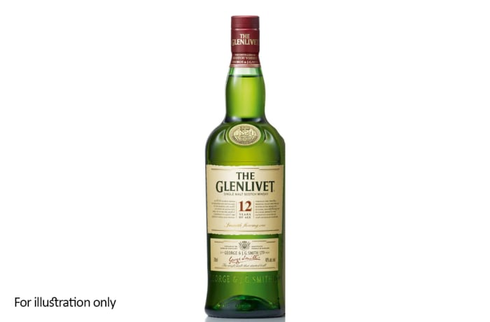 Scottish Malt Whiskies - Glenlivet 12 Year