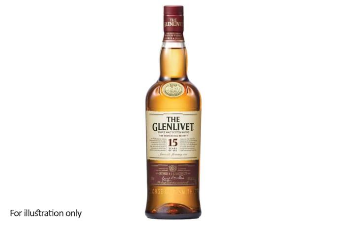 Scottish Malt Whiskies - Glenlivet 15 Year