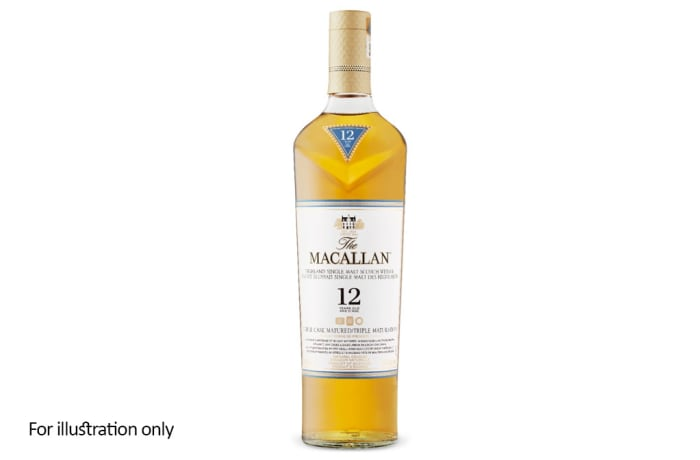 Scottish Malt Whiskies - Macallan 12 Year Triple Cask