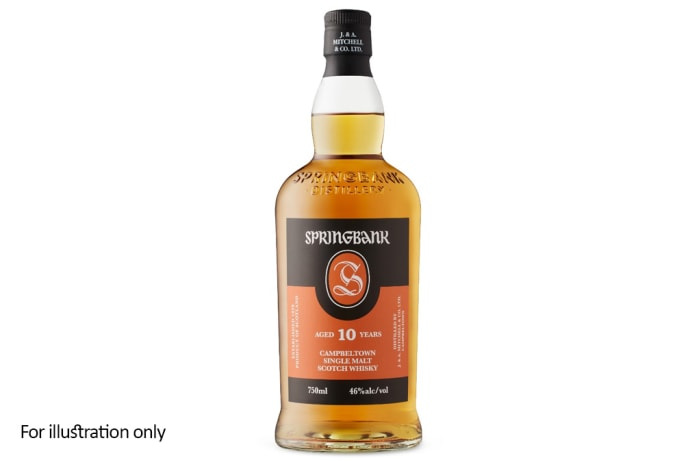 Scottish Malt Whiskies - Springbank 10 Year