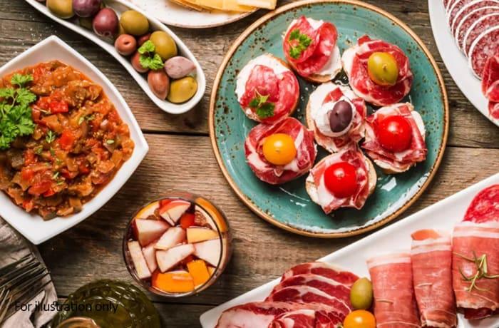 Tapas Style Small Dishes - Medium Tapas Platter – 5 Dishes
