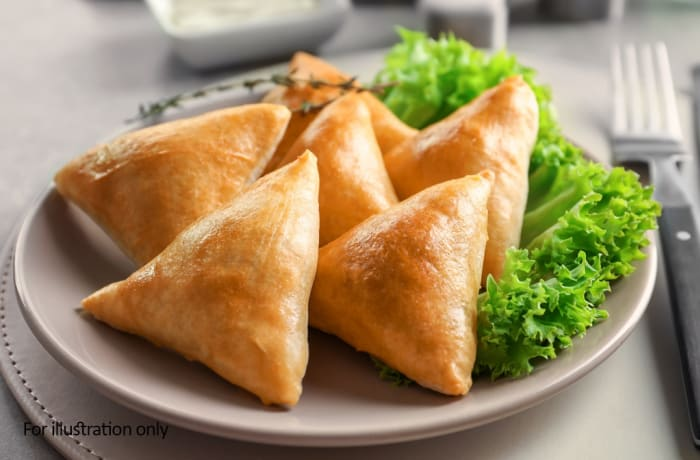Tapas Style Small Dishes - Samoosas