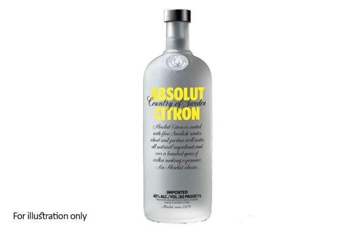 Vodka - Absolut Citron