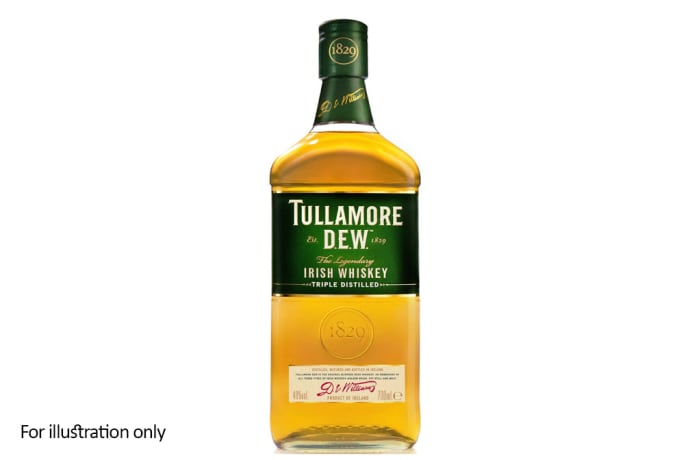 Whiskey from Eire - Ireland - Tullamore Dew Original