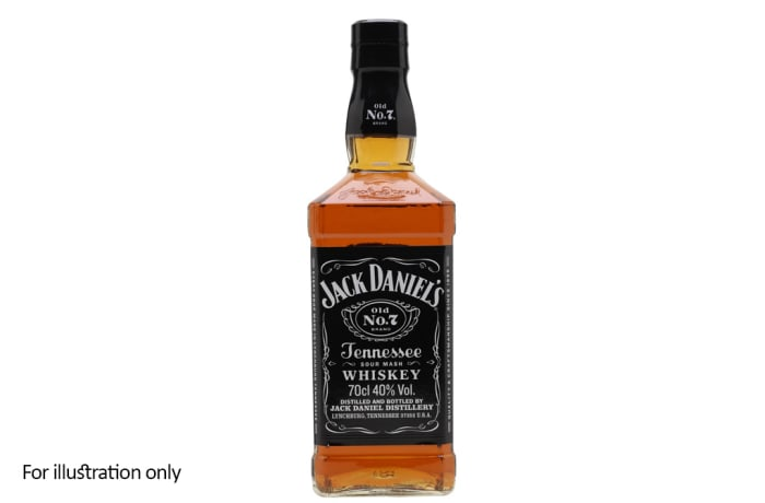 Whisky from North America - Jack Daniels Original Old No 7