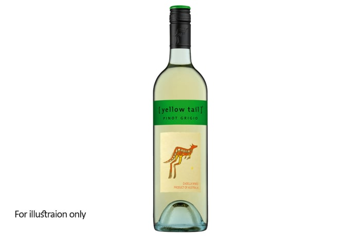 White Wine - Australia - Casella - Yellow Tail, Pinot Grigio