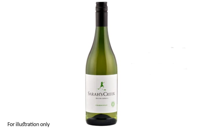 White Wine - South Africa - Sarah's Creek, Unwooded Chardonnay