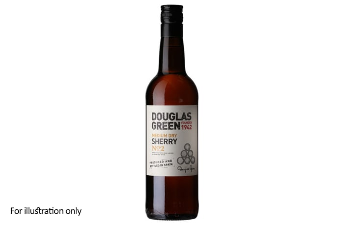 Wines by the Glass - Dessert Wine - Douglas Green No.2 – Medium Cream, Sherry