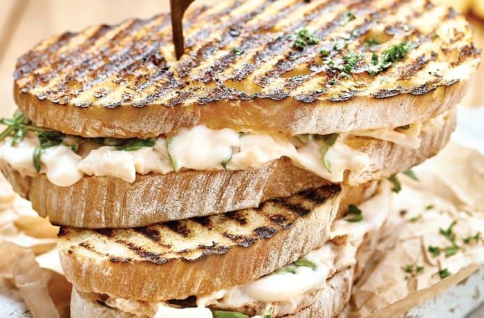 Wraps, Sandwiches & Rolls - Chicken Mayo Toastie