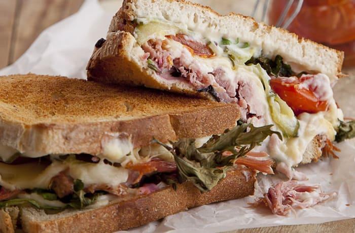 Wraps, Sandwiches & Rolls - Ham & Cheese Toastie