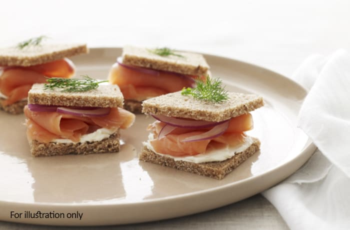 Wraps, Sandwiches & Rolls - Smoked Salmon Sandwich