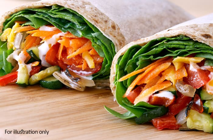 Wraps, Sandwiches & Rolls - Vegetarian Wrap