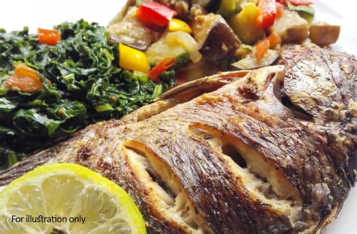 Zambian Fusion Dishes - Traditional Zambezi Bream