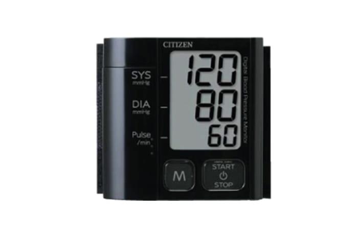 Citizen - CH 657 digital blood pressure monitor Black