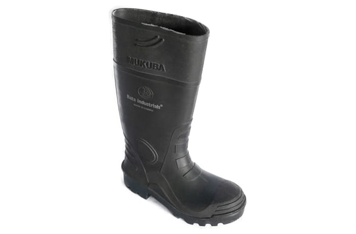 Bata - Mukuba Black Gum Boots