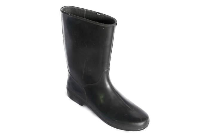 Bata - Light Black Gum Boots