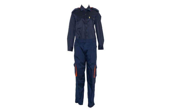 Navy Blue Fire Fighter Combat Uniform