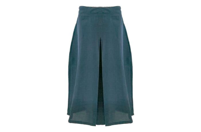 Girls Blue Secondary School Skirts