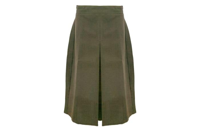 Girls Brown Secondary School Skirt