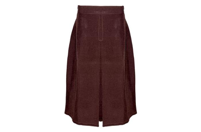Girls Maroon Secondary School Skirts