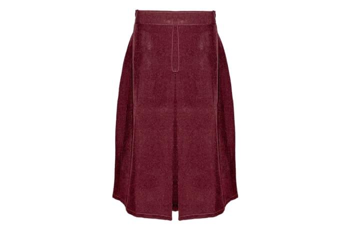 Girls Red Secondary School Skirt
