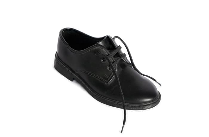 Smart Steps - Boys Black School Shoes