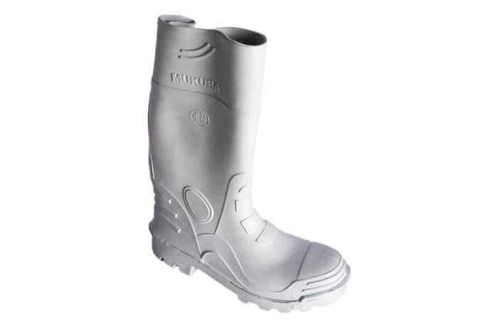 Bata - Mukuba  White Gum Boots