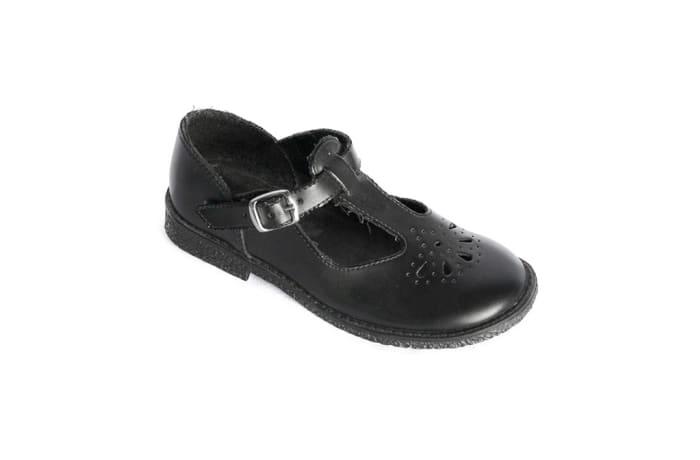 Smart Steps - Girls Black School Shoes