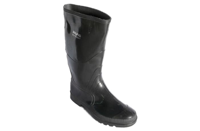 Wayne - Black Gum Boots