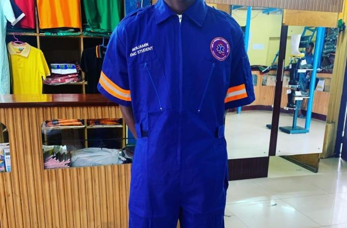Boiler jumpsuits for emergency medical care services image
