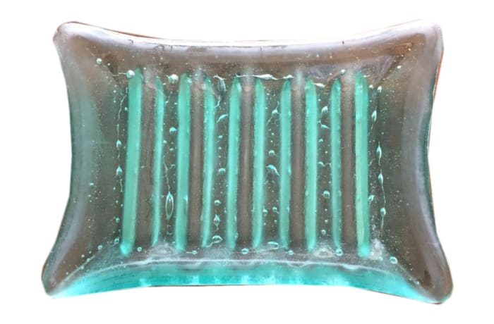 Clear glass New style soap dish