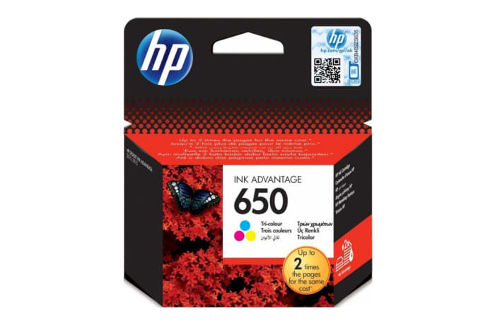 Printer Toner Cartridges - Hewlett Packard HP 650XL Colour Toner Cartridge