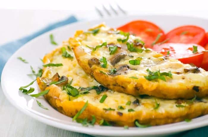 Breakfast - Cheese Omelette