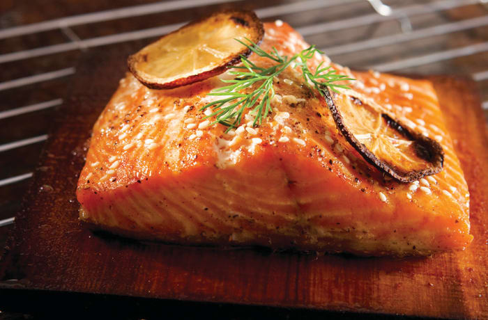 Main Course - Grilled Salmon