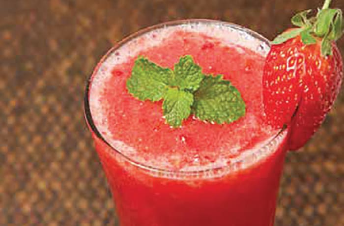 Special Mocktails - Virgin Strawberry Daiquiri